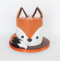 Fox Cake - Birthday Celebration