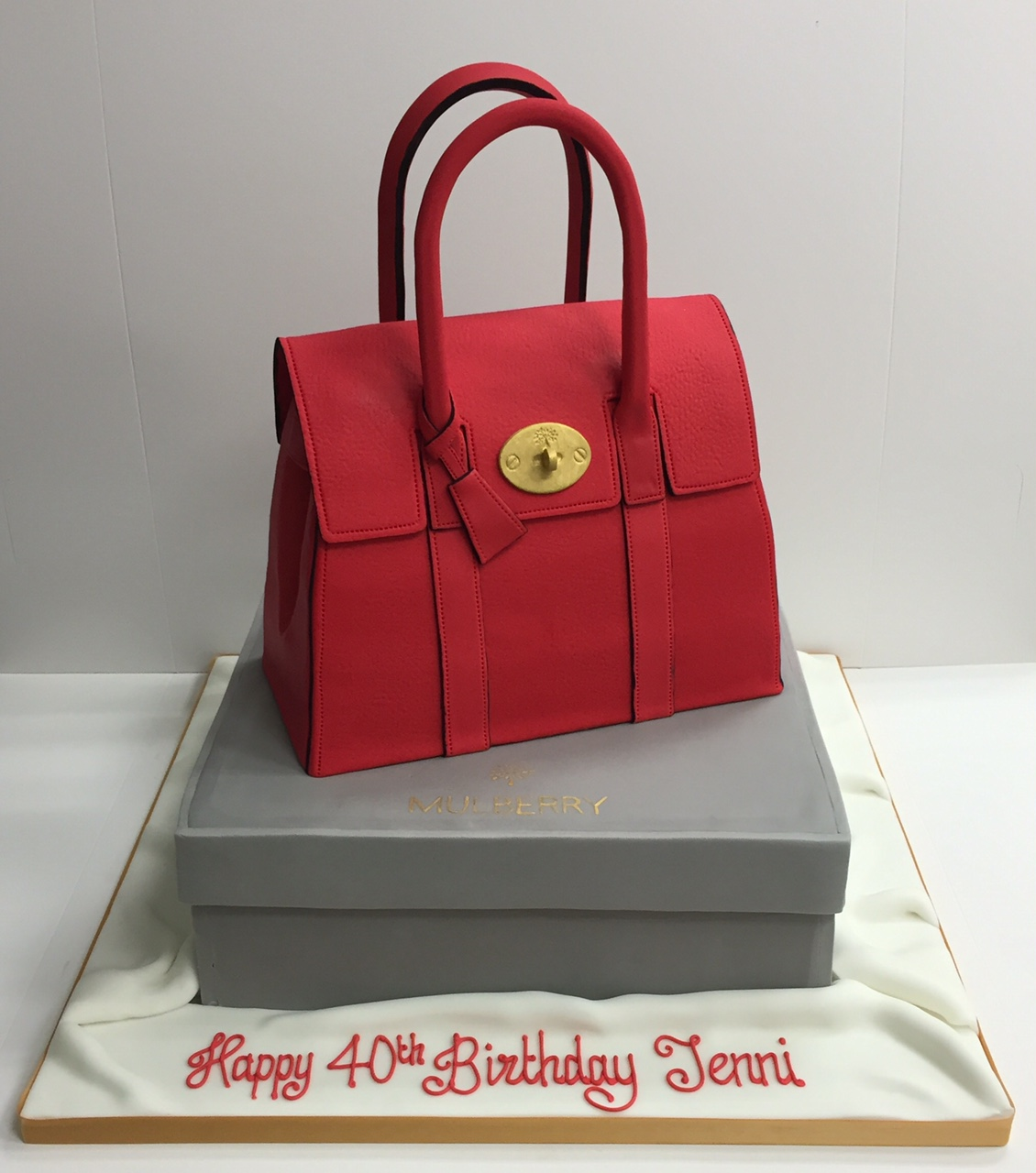 Handbag And Shoe Birthday Cakes Cakes By Robin