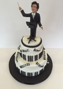 Music Conductor cake