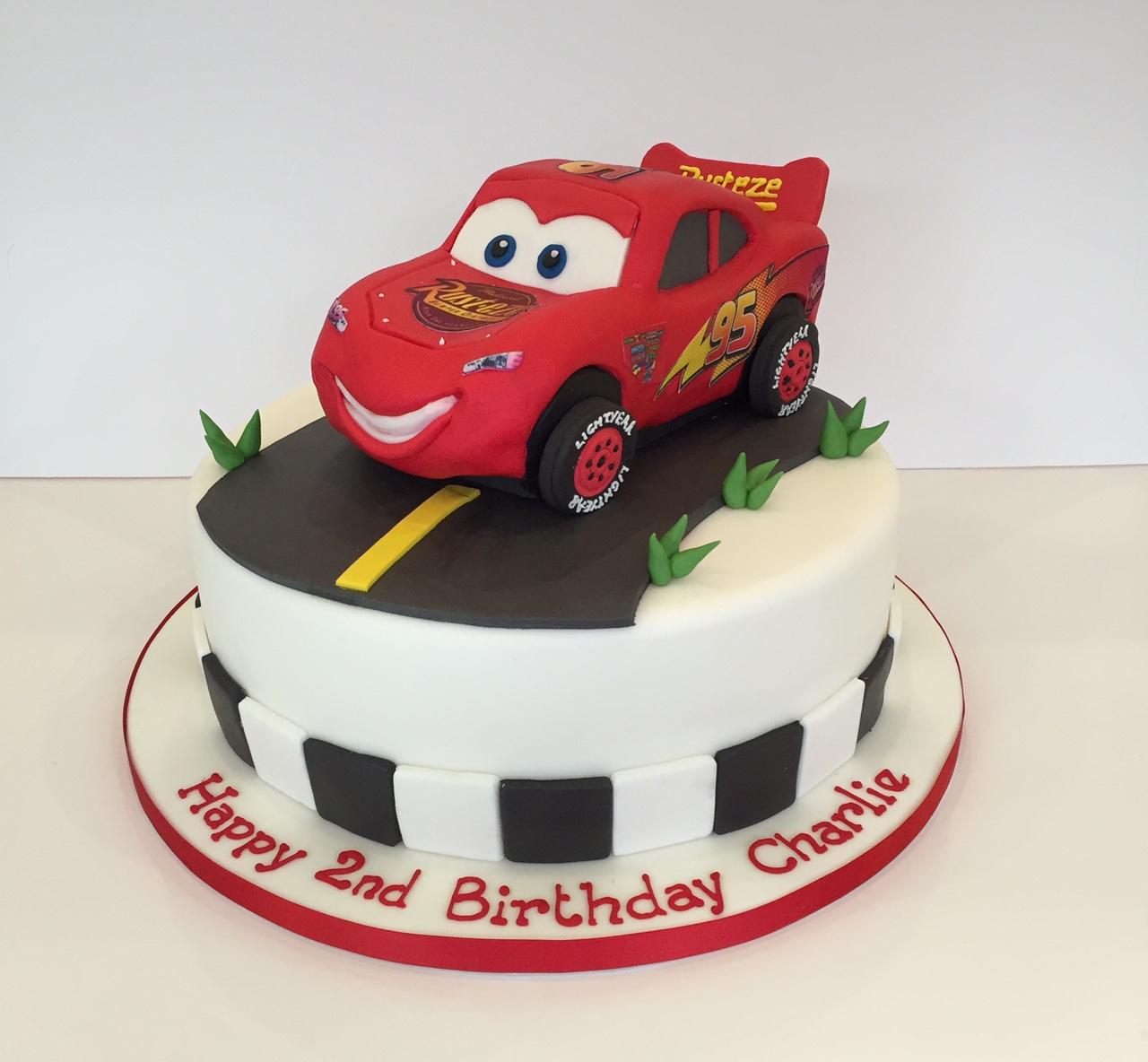 Children Car Amp Plane Birthday Cakes
