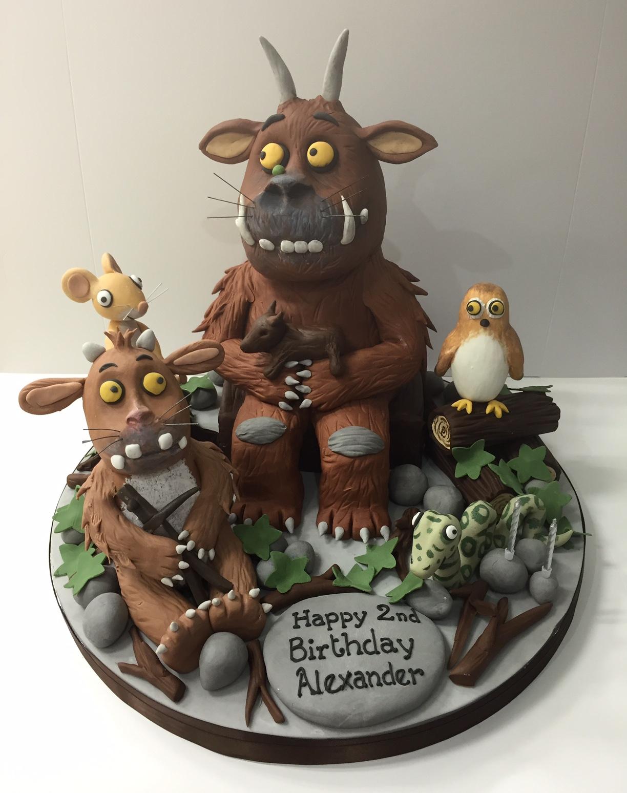 Gruffalo Cake Gruffalo Birthday Cake Cakes By Robin