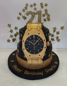 Watch lovers birthday cake