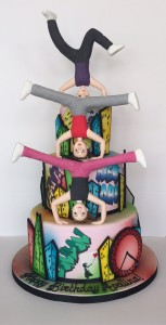 Street Dance birthday cake