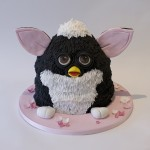 Furby birthday cake