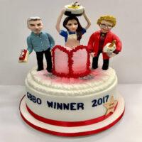 Great British Bake off celebration cake