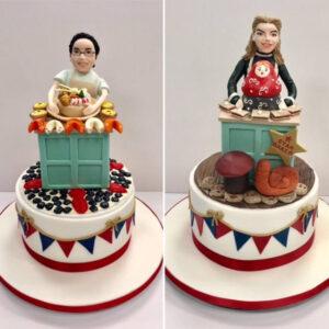 Great British Bake Off - Julia and Yan