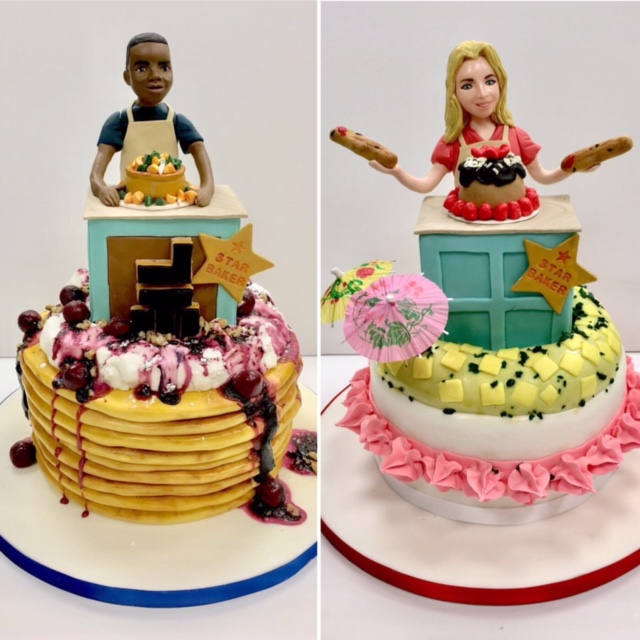 Great British Bake Off - Liam and Stacey