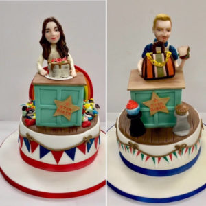 Great British Bake Off - Kate and Steven