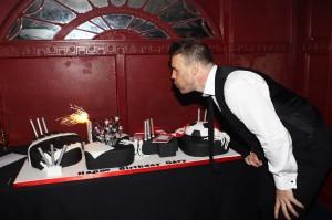 Gary Barlow birthday cake