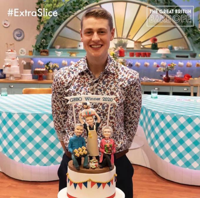 Great British Bake Off 2020 winners cake image