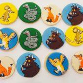 Gruffalo cookies