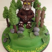 Gruffalo in the forest