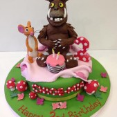 Gruffalo model with mouse