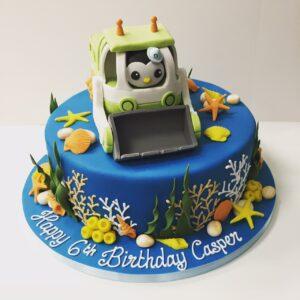 Gup Y Octonauts birthday cake