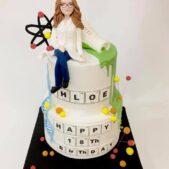 Happy Birthday Periodic Table Cake