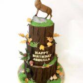 Happy Birthday Stag Cake