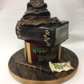 Happy Potter Birthday Cake