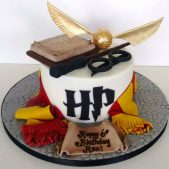 Pleasant Harry Potter Birthday Cake Cakes By Robin Personalised Birthday Cards Paralily Jamesorg