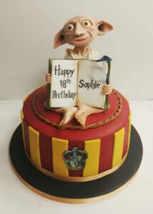 Harry Potter Dobby Birthday Cake