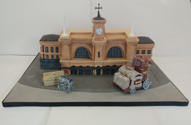 Harry Potter Kings Cross Celebratory Cake for JK Rowling