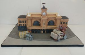 Harry Potter Kings Cross Celebratory Cake for JK Rowling