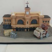 Harry Potter – Kings Cross Station Cake