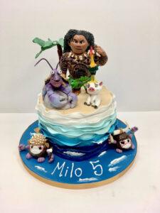 Hawaii Man Birthday Cake