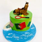 Horse model – 12th birthday cake