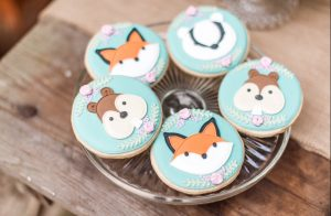 Woodland Party Cookies