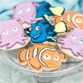 Nemo themed cookies