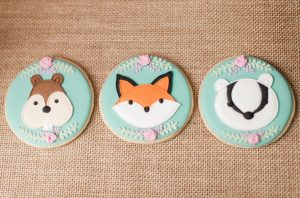 Woodland Party Fox Cookies