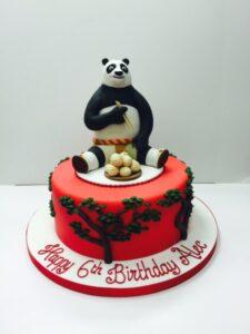 Kung Fo Panda Birthday Cake