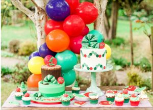 The Very Hungry Caterpillar table