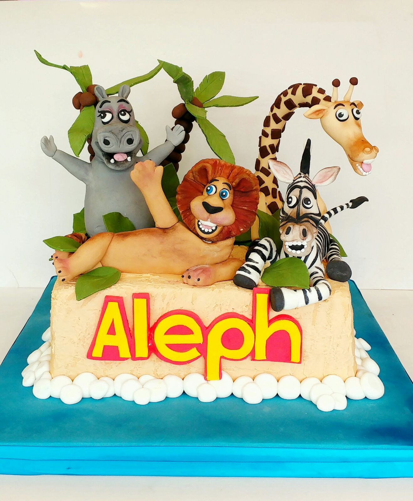 Animal Birthday Cake