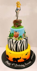 Birthday Cake Lion King