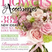 Wedding flowers magazine front cover
