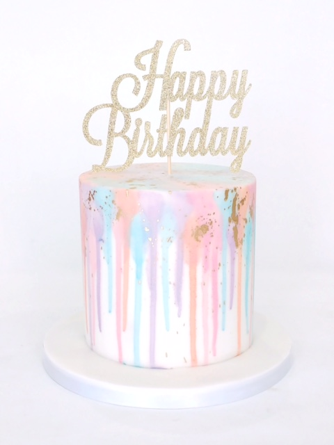Pastel Colour Drip Cakes Cakes By Robin