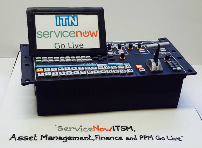 ITN Asset Management Corporate Cake