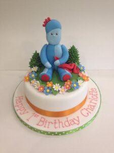 In the Night garden birthday cake iggle Piggle
