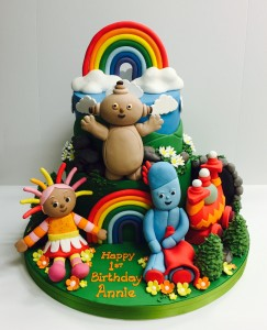 In the Night Garden children's birthday cake