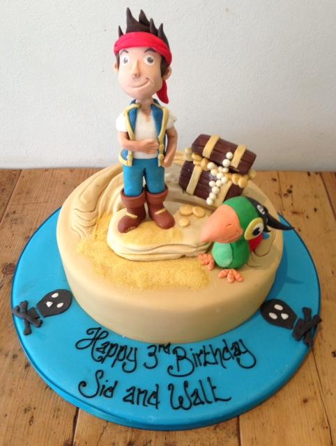 jake and the neverland pirates cake - photo #26
