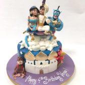 Jasmine and Alladin cake
