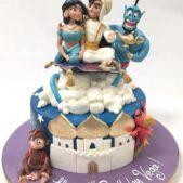 Jasmine and Aladdin cake
