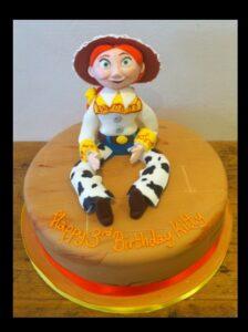 Jessie birthday cake