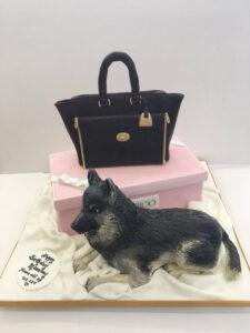 Jimmy Choo & Dog Cake