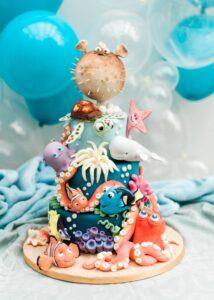 Nemo Theme Cakes