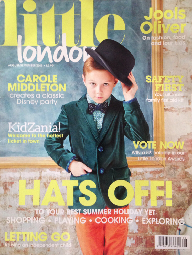 Cakes by Robin in Little London  magazine Aug/Sept 2015