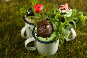 Cute tins cups look amazing and are from any outdoor shop