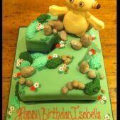 Makka Pakka birthday cake