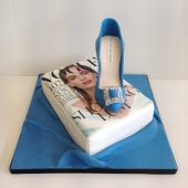 Manolo Blahnik shoe birthday cake